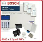 Bosch Solution 6000 Alarm System with 3 x Gen 2 Quad Detectors
