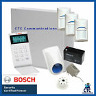 Bosch Solution 3000 Alarm System With 3 X Gen 2 StandardDetectors+ Icon Code Pad
