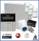 Bosch Solution 3000 Alarm System With 3 X Gen 2 Quad Detectors+ Text Code Pad