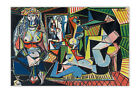 1955 Les Femmes D'alger By Pablo Picasso Oil Painting Re-Print Poster Wall Art