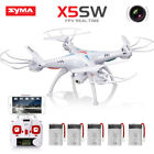 Syma X5SW 2.4G RC Drone with WIFI HD Camera FPV Real Time RC Quadcopter Headless