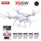 Syma X5SW 2.4G RC Drone with WIFI HD Camera FPV Verified Time RC Quadcopter Headless
