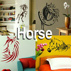 Horse Wall Stickers Home Transfers Graphic Decal Decor Stencil Vinyl Stable Door