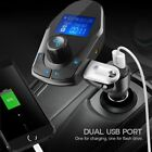Nulaxy KM24 Car Kit Wireless Bluetooth FM Transmitter Handsfree W/ Power Switch