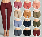 Colored Stretch JEANS JEGGINGS Slim Skinny Mid Rise 1XL/2XL/3XL 14/16/18/20/22