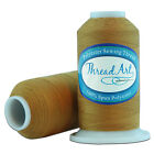Купить SPUN POLYESTER SEWING THREAD - 50/3 - 600M - 80 COLORS AVAILABLE - THREADART