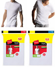 SALE NEW Hanes Men's 2 or 3 White TAGLESS CrewNeck/V Neck Undershirt S M L XL