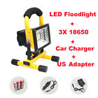 Portable 30W 24 LED Outdoor Camping Flood Light Spot Work Lamp Car Rechargeable