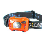 Infrared Sensors Rechargeable LED Headlamp Headlight Flashlight outdoor camping