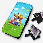 WINNIE THE POOH & FRIENDS FLIP PHONE CASE COVER WALLET FAUX LEATHER