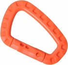 Light Tactical Carabiner Quickdraw Mountaineering Buckle f Hiking Climbing