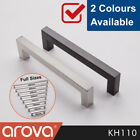 Cupboard Handle Square T Bar Pulls Kitchen Cabinet Door Drawer Stainless Steel