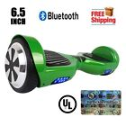 """UL2272 Listed Bluetooth Hoverboard 6.5"""" Self Balancing Electric Scooter Green"""
