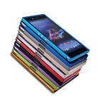 Aluminum Metal Frame Shockproof Back Case Cover For Sony Xperia Z Ultra XL39H