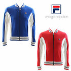 Fila Vintage Bjon Borg Settanta Cotton Track Top Blue Size Small