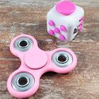 Buy 2 Get 1 For Free Hand Fidget Spinner   Cube ADHD Autism Anti Stress Desk Toy
