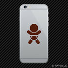 (2x) Baby In Car Symbol Cell Phone Sticker Mobile on board many colors