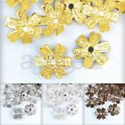 About52pcs Metal Beads Caps Jewelry Crafts Finding Spacer 16.5x16.5x4mm