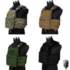 TMC Cherry Plate Carrier Tactical Vest NCPC Molle Military Gear Genuine CP CB BK