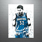 Karl-Anthony Towns Minnesota Timberwolves Poster FREE US SHIPPING on eBay