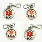 ALL ACCESS CANINE� Service Dog Emotional Support Animal ESA metal dog collar tag