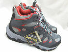 NEW MERRELL RIDGEPASS MID GTX ROCK/RED SUEDE MESH GORE-TEX HIKING  BOOTS UK 9