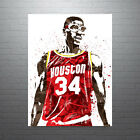 Hakeem Olajuwon Houston Rockets Poster FREE US SHIPPING on eBay