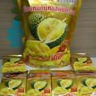 DURIAN Fruit KING Dried Snack Natural Healthy Premium Thailand HALAL 35g. KOSHER
