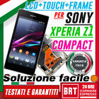 LCD +TOUCH+FRAME X SONY X