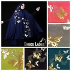 Butterfly Khimar Instant Hijab One Piece Slip On Scarf Long Amira Abaya Jilbab