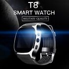 T8 IPS HD Smart Watch SIM Bluetooth Phone Mate Sync For Android Phone Samsung LG