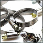 STAINLESS STEEL HOSE CLAMPS HIGH QUALITY PIPE TUBE CLIPS WIDE RANGE NEW