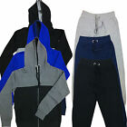 NEW MENS TRACKSUIT FULL SET FLEECE HOODIE TOP BOTTOMS SWEATSHIRT JOGGING TRACKIE