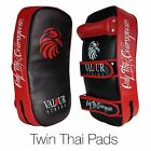 Boxing Pads Focus Punch Sparring Mitt Kickboxing Muay Thai Hook & Jab MMA Curved