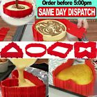 Silicone cake mould Magic bake maker Sweet baking shape Nonstick tool tray case