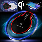 Shoot through Qi Wireless Fast Charger Charging Pad for Samsung Galaxy S8 / Plus S7 Edge