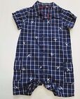 Baby boys outfit short romper summer M & S  3 6 9 months *NEW*