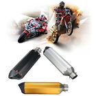 38-51mm Motorcycle Universal Carbon Fiber Stainless Steel Exhaust Muffler Pipe