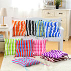Home Kitchen Office Outdoor Dining Garden Patio Chair Seat Striped Pads Cushions