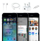 Factory Unlocked Apple iPhone 5S 16GB 32GB Smartphone Gold Gray Silver Sim Free