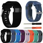 Replacement Silicone Wrist Band Bracelet Strap For Fitbit Charge HR W/ Tools AU