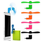 Lot 12 Pcs Micro Mini USB Electric Fan Cell Phone Cooling For Samsung Galaxy
