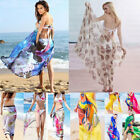 Women's Summer Pareo Dress Sarong Beach Bikini Swimwear Cove