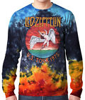 ICARUS - Tie-Dyed Longsleeve Shirt, Official Led Zeppelin Merch sizes M - 2XL