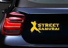 Street Samurai JDM Car Body Window Bumper Vinyl Decal Sticker