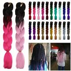 24'' Ombre Synthetic Kanekalon Jumbo Braiding Hair Extension Afro Twist Braids