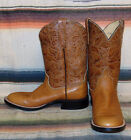 Womens Anderson Bean NRS Brown Leather Shorty Cowboy Boots 7.5 B Very Good Cond