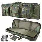 NcSTAR Double PVC Molle Padded Carbine Rifle Case Woodland Camo CVDC2946WC