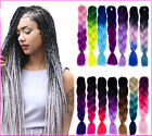 24'' Kanekalon Ombre Jumbo Synthetic Braiding Hair Extension Afro Twist Braids