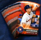 2017 Topps Bunt Houston Astros Baseball Card Your Choice - You Pick